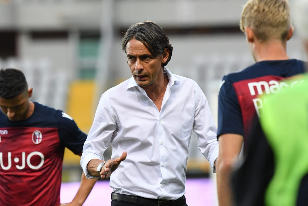 "#Inzaghi: ""We are all convinced of our ability to turn this situation around through the work we're doing. The squad has belief, but to avoid relegation we will have to play better and pick up points.""   #NapoliBologna #WeAreOne 🔴🔵"