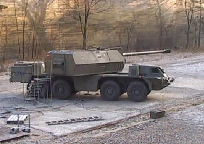 مدفع ZUZANA 2  الذاتي الحركه عيار 155 ملم من شركة DMD GROUP السلوفاكيه  DvgUOldWoAE7Nd_
