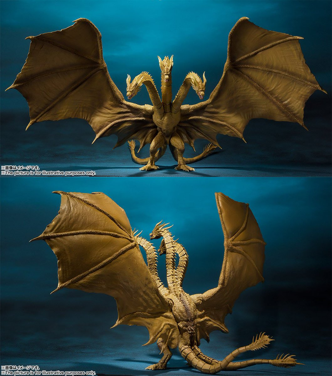 "Godzill 2019: Tendou On Twitter: ""[S.H.MonsterArts] King Ghidorah"