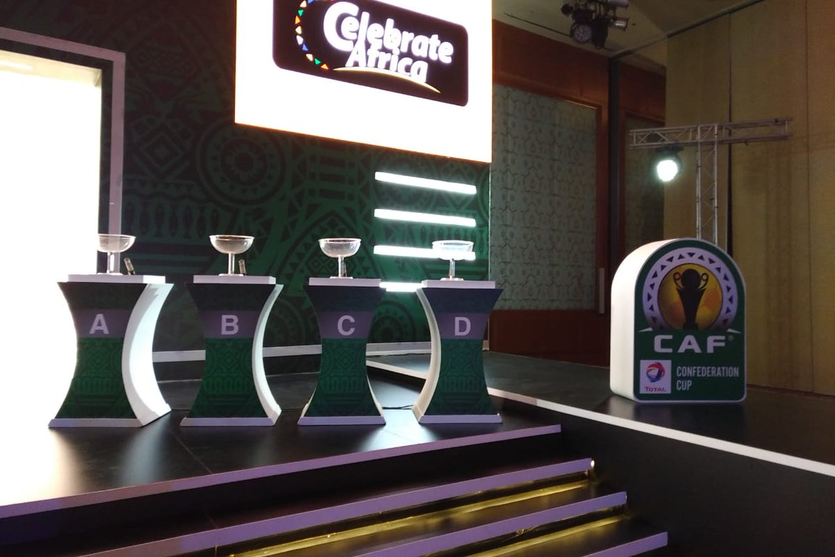 📸📸 All is set for @CAF_Online @Total Champions League and Confederation Cup Draw  #TotalCAFCL  #Totalcafcc