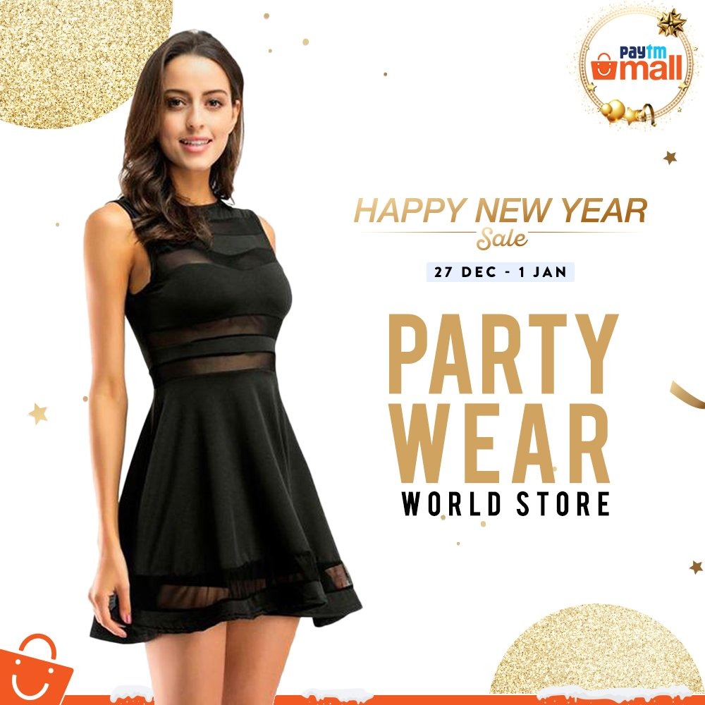 d5c15737c14d Get spoilt for party wear collection at Paytm Mall. Shop now!  http://pytm.ml/dtort pic.twitter.com/JlIOaLccGR
