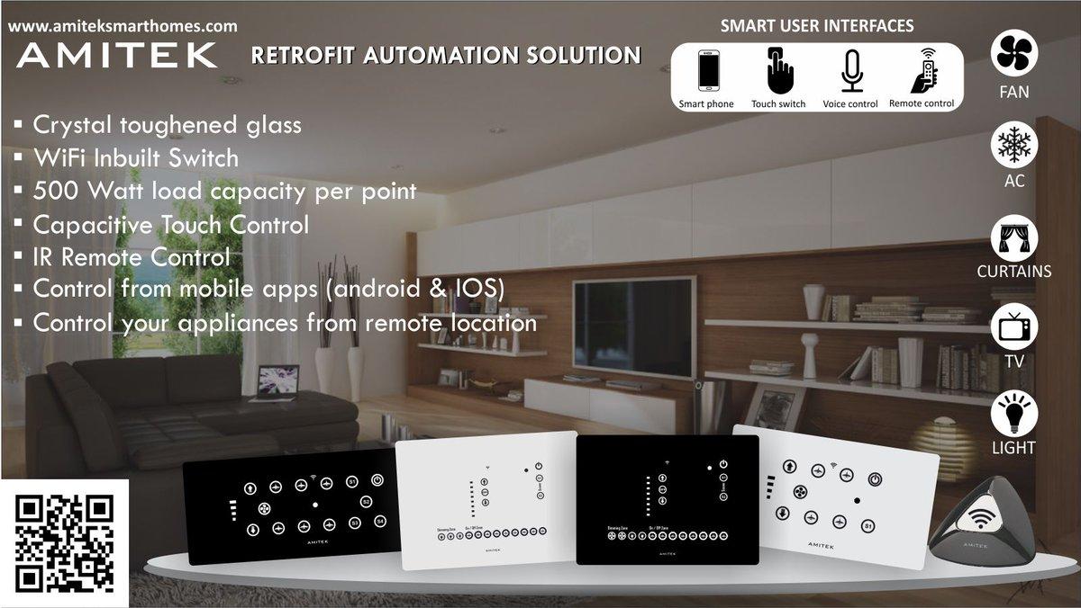 Amitek Smart Homes on Twitter: