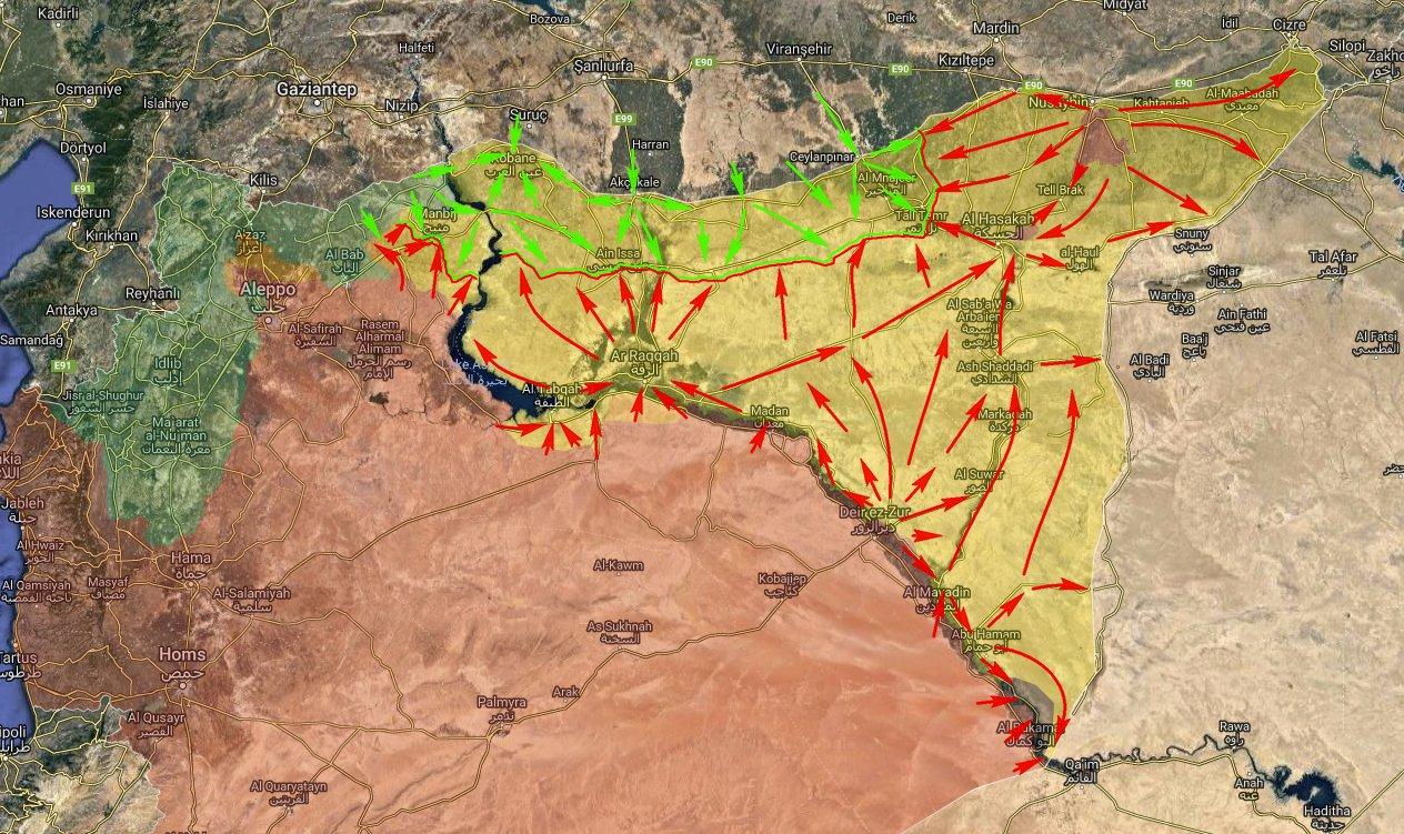 قوات سوريا الديمقراطيه ( قسد ) .......نظرة عسكريه .......ومستقبليه  - صفحة 3 DvggYjxXcAAV_dg