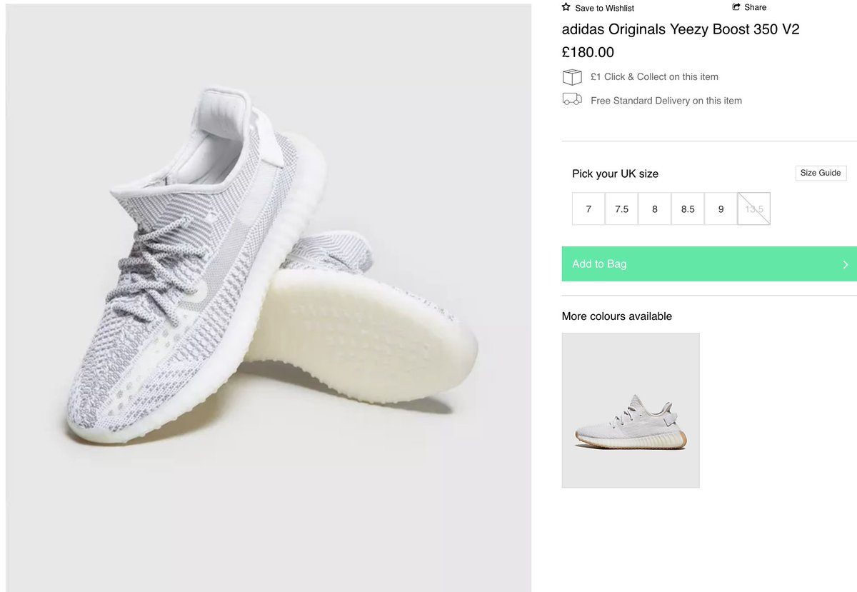 Details about Adidas yeezy Boost 350 V2 Glow GITD (UK 3.5 & 4.0) FREE SHIP