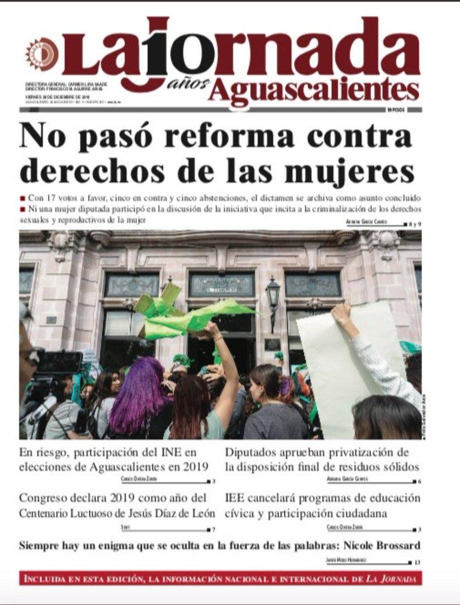 Jorge álvarez Máynez On Twitter La Portada De La At Jornadags