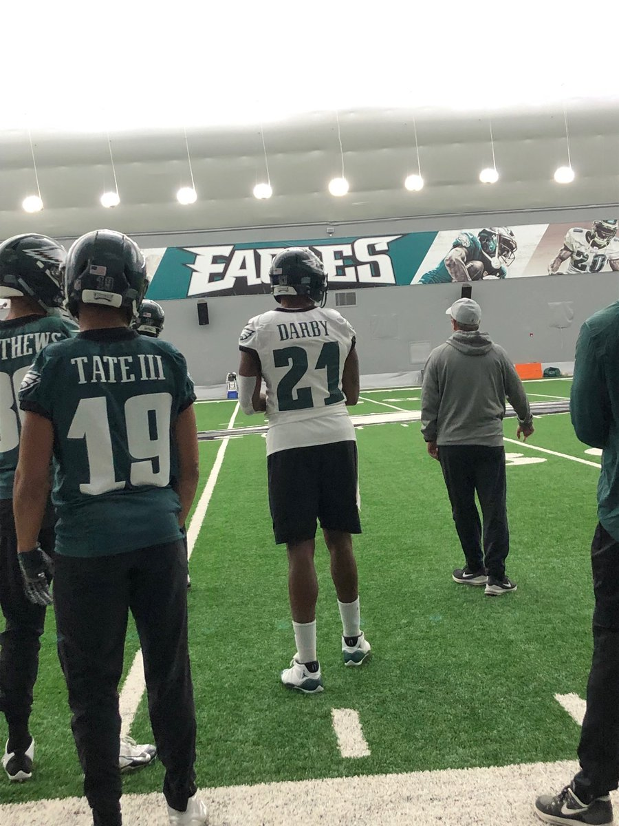 Eagles WR Alshon Jeffrey wore injured CB Ronald Darby s jersey ... ec7acc2b0