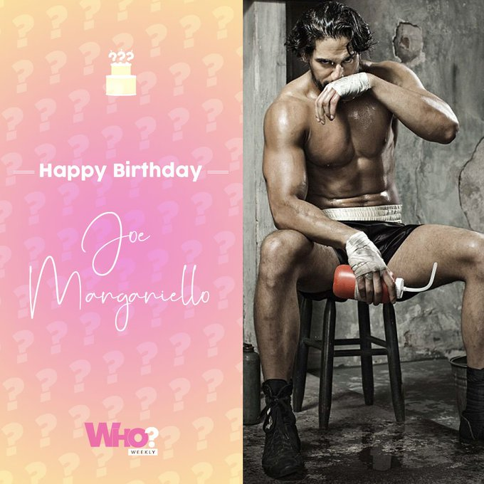 Happy birthday, Joe Manganiello!