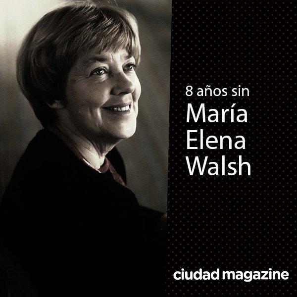 Ciudad Magazine's photo on maría elena walsh