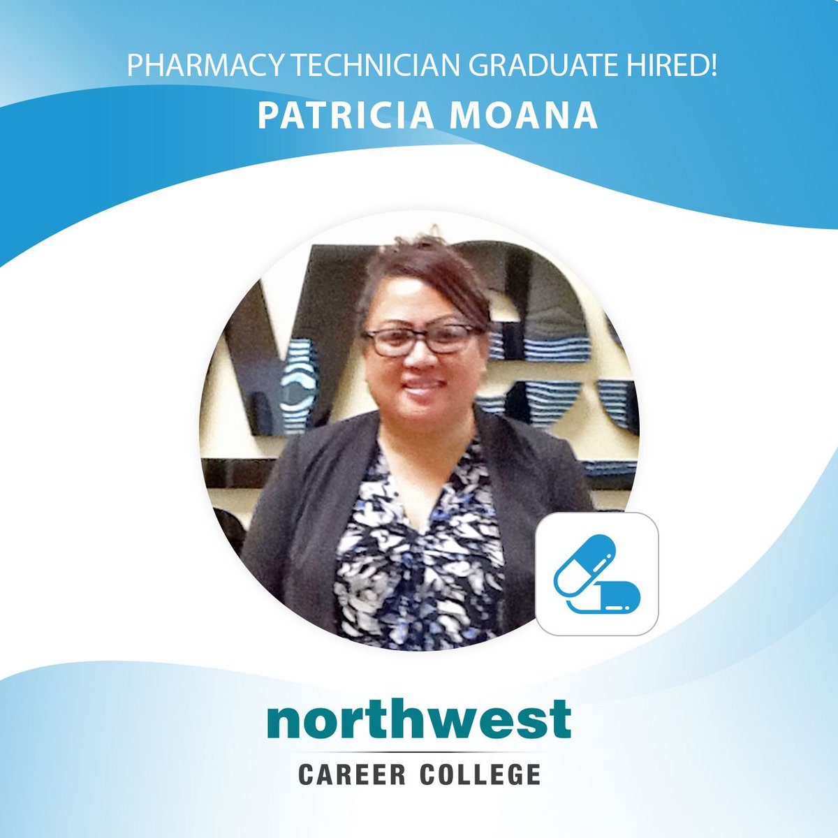 Nccvegas A Twitter Congratulations Go Out To Northwest Career College Pharmacy Technician Graduate Patricia Moana Cpht Who Just Accepted A Joyful New Job With Cvs Pharmacy All That Hard Work Paid Off