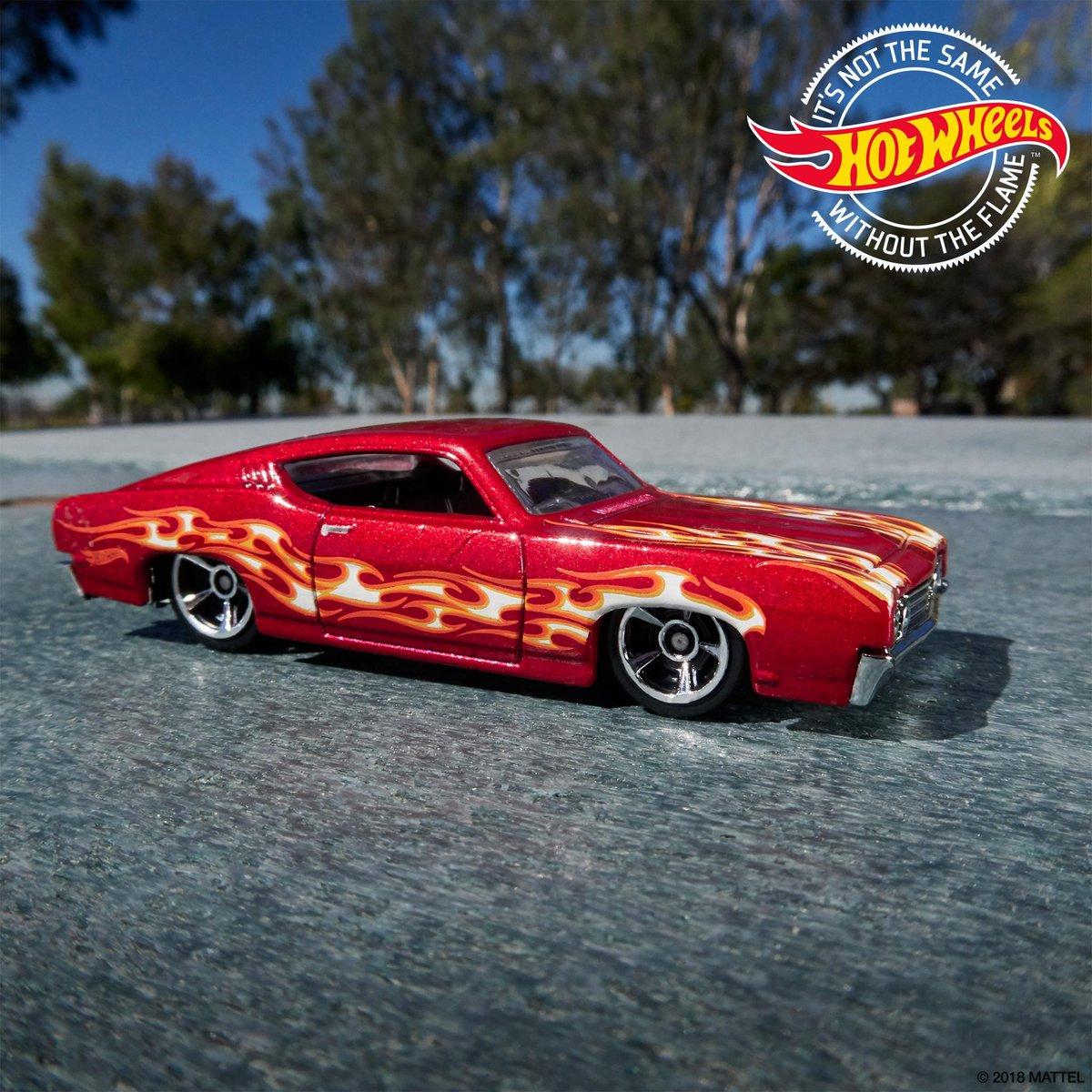 New Ford Torino >> Red Hot Wheels 2019 Hw Flames 69 Ford Torino Talladega New