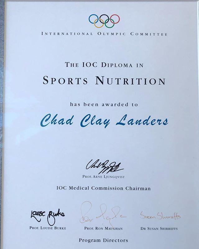 Chad Landers CSCS on Twitter: