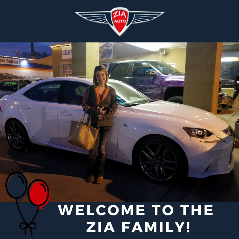Zia Auto Sales >> Zia Automotive On Twitter Congratulations Ms Perea On Your New