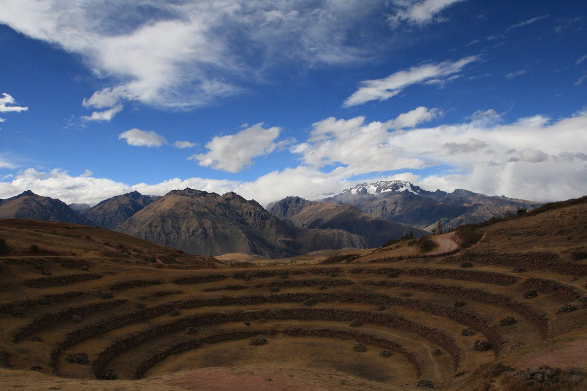 Yet another nice photo of #ruins in #Peru!  #Photooftheday #mountains #nature #moray