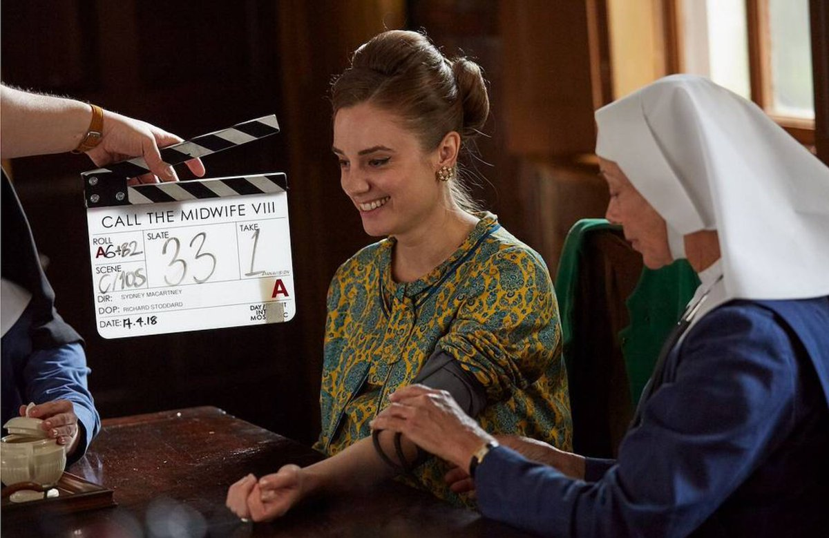 Behind the scenes on the #callthemidwife Christmas Special: Lena's journey ❤️😪 Catch up now on iPlayer: https://bbc.in/2ESLbMy  https://www.facebook.com/callthemidwifeofficial/posts/2084706634922911 …