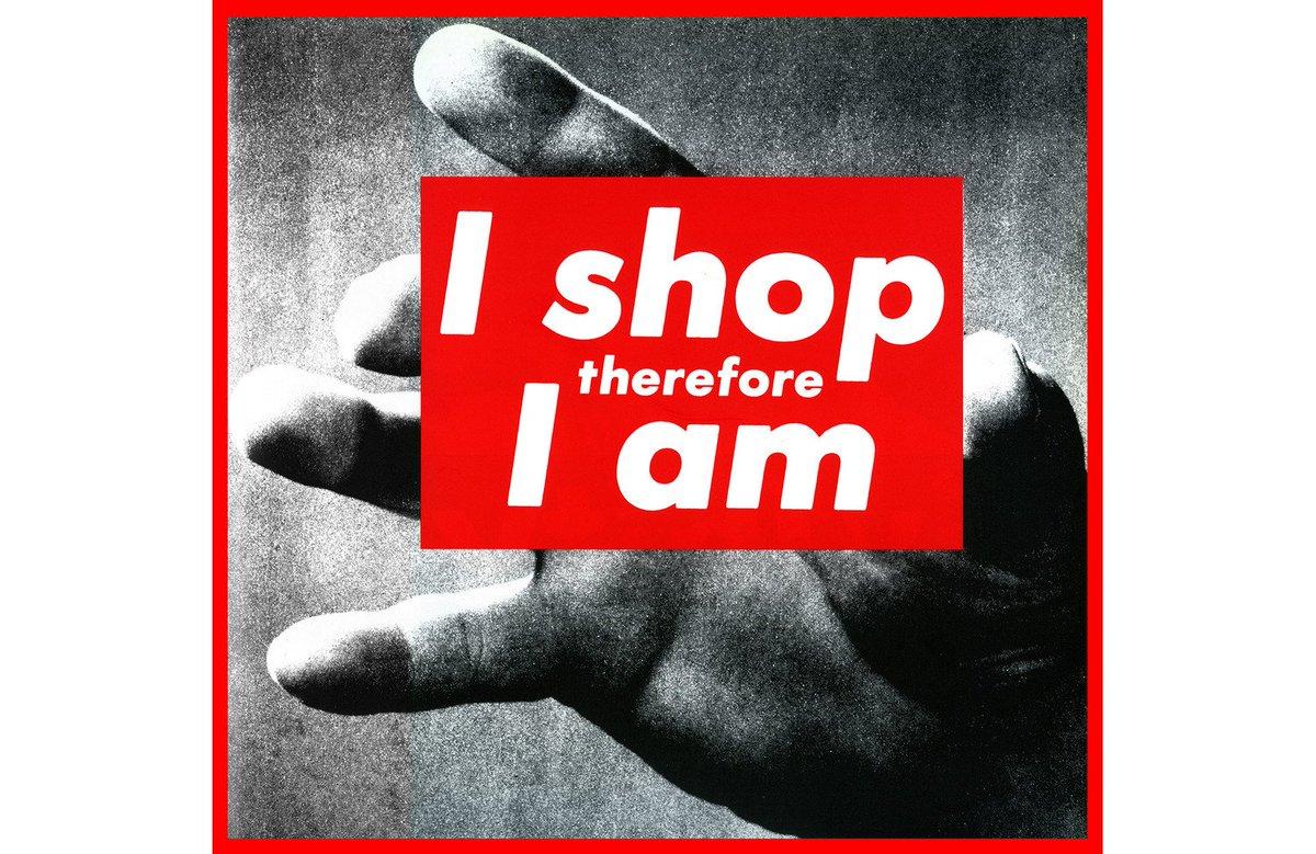 d59de328f8e2 ironically supreme's whole logo was stolen from anti-consumerist artist  barbara krugerpic.twitter.com/7qgQ7HfytU