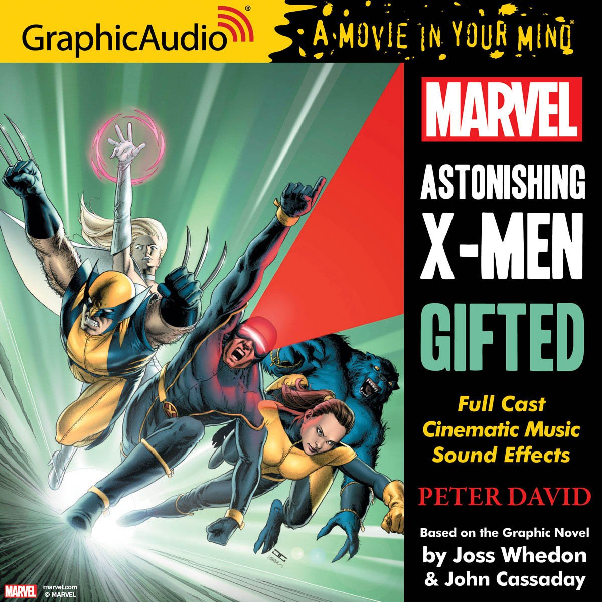 Based on the Graphic Novel by @joss & @JohnCassaday Take 60% off with  coupon: LASTCALL https://www.graphicaudio.net/astonishing-x-men-gifted.html  … ...