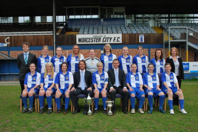 10 years ago this week I started managing in 'Women's' game:  - Worcester City (W.Mids Div 1 & Prem Champs)  - Aston Villa (National League 3rd)  - WBA (Premier League Champs)  - Nott'm F (current)  - 4 different County Cup wins  - 61% win rate across all leagues  #10YearJourney <br>http://pic.twitter.com/LitxrdGBST