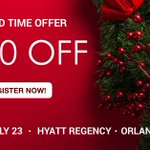 Our limited time offer ends in a few days! Receive $200 off #RealWorld19 registration when using promo code GATOR at checkout, before January 1st! Register now: https://t.co/58xtyFYaYk #Multifamily #HappyHolidays