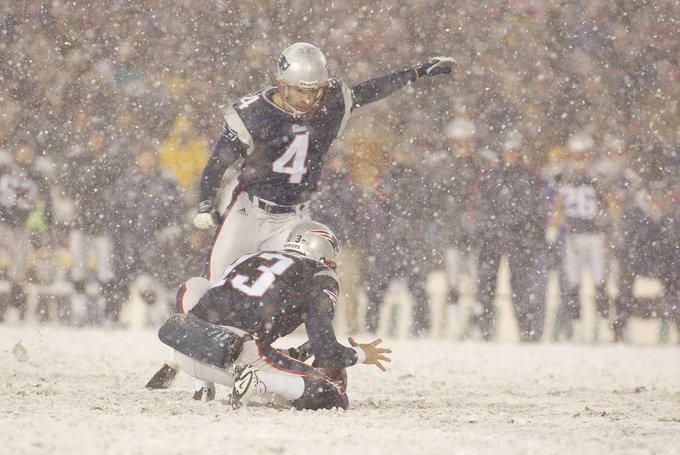 Happy 46th bday to the NFL\s all-time leading scorer and it\s most clutch kicker, Adam Vinatieri!