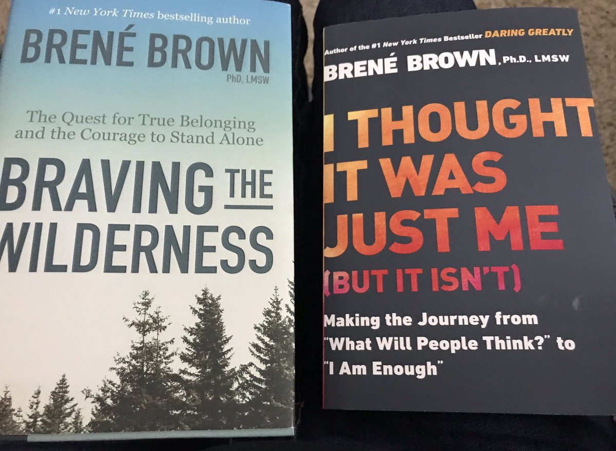 Finishing-left... starting-right... Brene Brown is powerful!! Add to your list to read if you haven't yet.