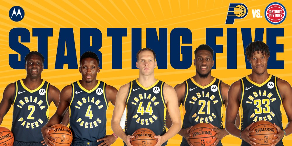 Indiana Pacers @Pacers