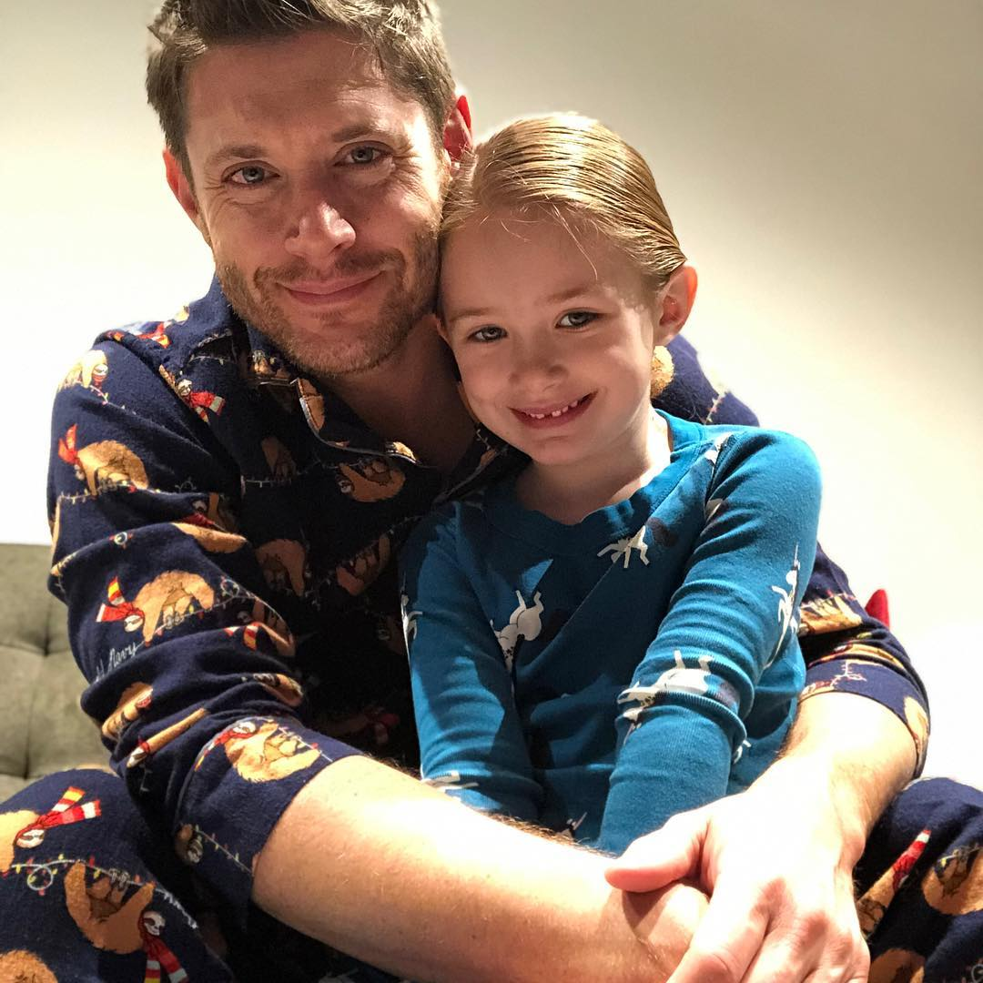"""Marie Davis queen on Twitter: """"That is so beautiful pictures Jensen Ackles And his daughter… """""""