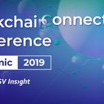 Image for the Tweet beginning: For the Blockchain Connect Conference