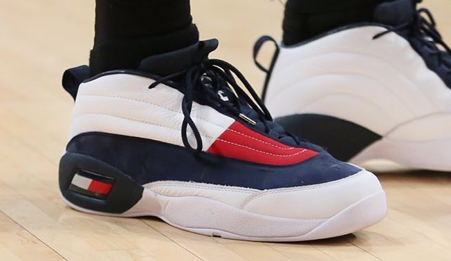 6ea3d2658e0  SoleWatch   stephensonlance is really hooping in the  KITH x  TommyHilfiger  Skew