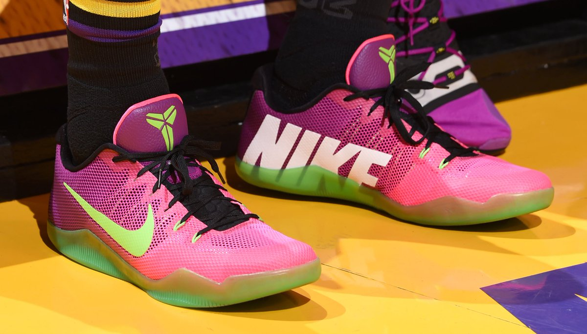 1081f9baade solewatch joshhart standing out on the court in the mambacurial nike kobe 11  em adampantozzi