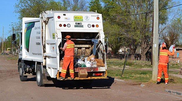 #SantaRosa | Cronograma de Servicios de recolección de residuos y barrido de calles durante el feriado de Fin de Año
