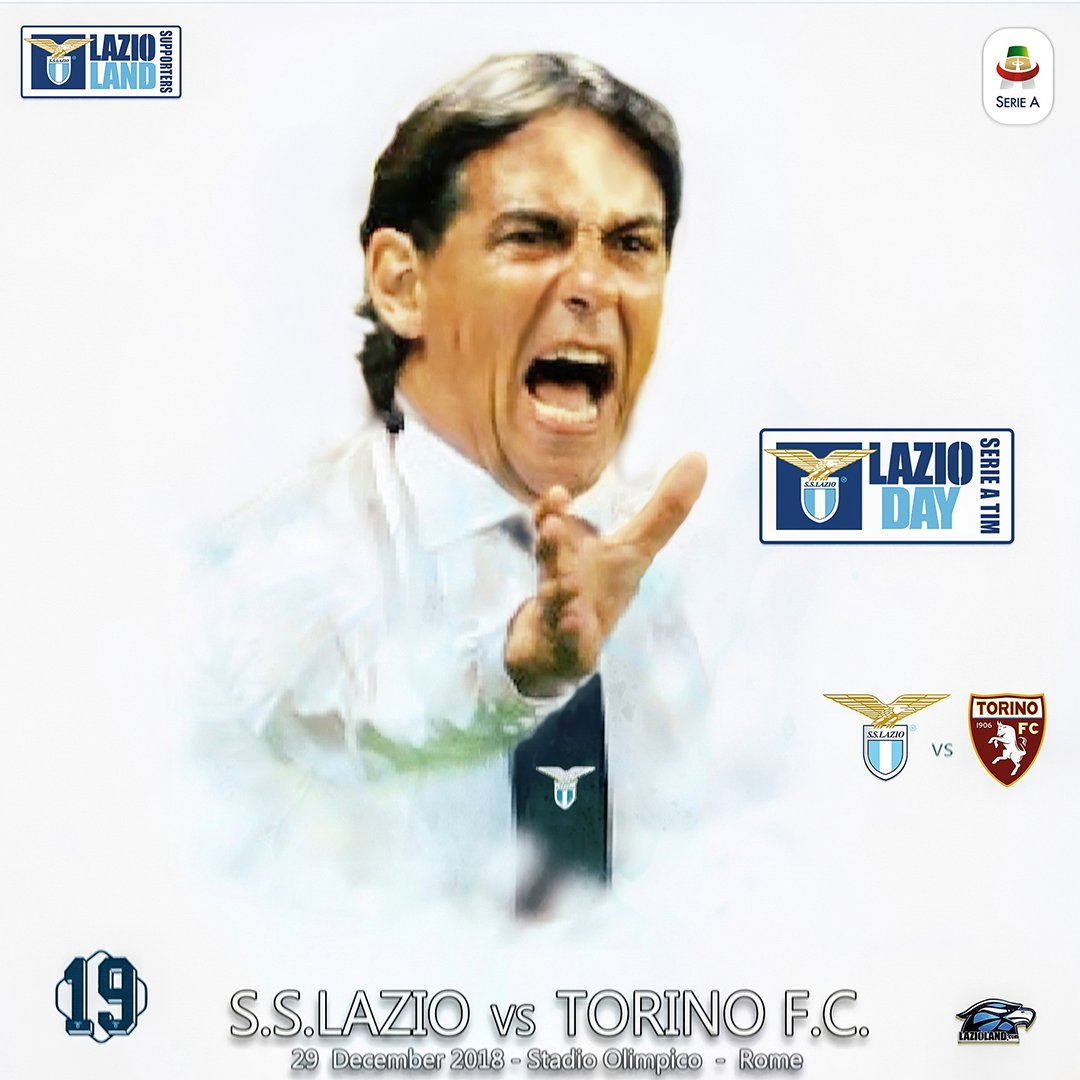 Our #MatchDay Preview is here! We've got the game in a chokehold and we aren't letting go! Let's end the year on a high note avenging that controversial VAR assisted loss when we met #torino last time #ForzaLazio #LazioTorino #SerieATIM #LazioDay #StartingXI #LazioLand