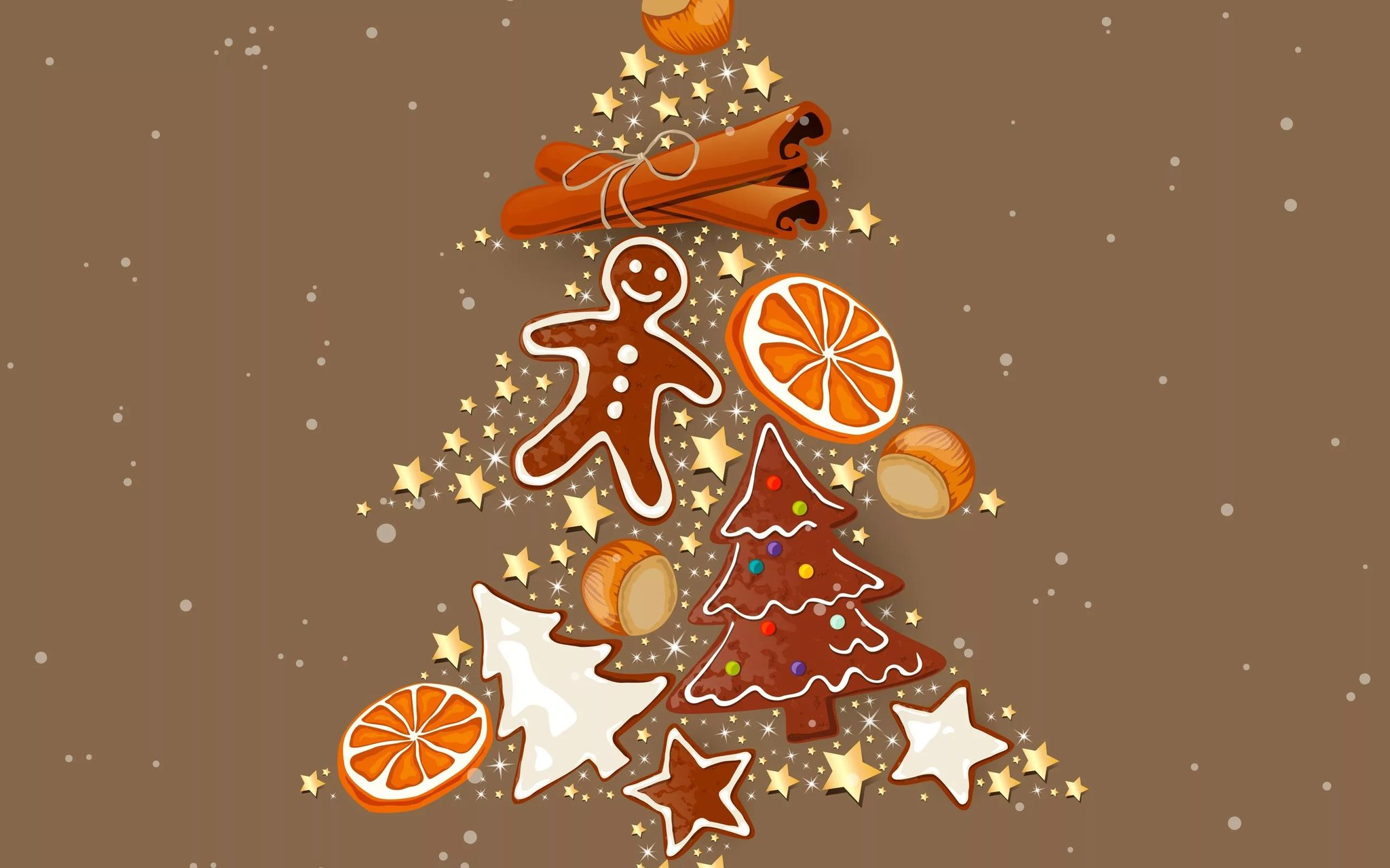 Дизайнерские открытки с новым годом и рождеством, днем