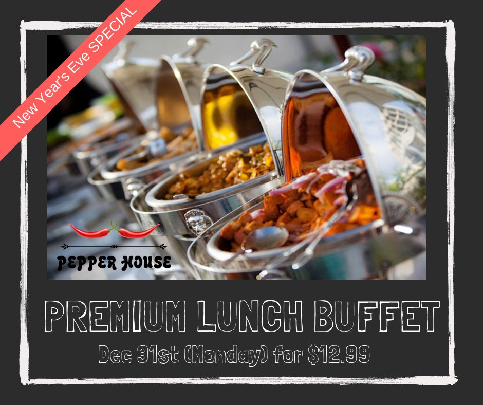 Phenomenal Pepper House Nj On Twitter Lunch Buffet Only 12 99 Yes Beutiful Home Inspiration Xortanetmahrainfo