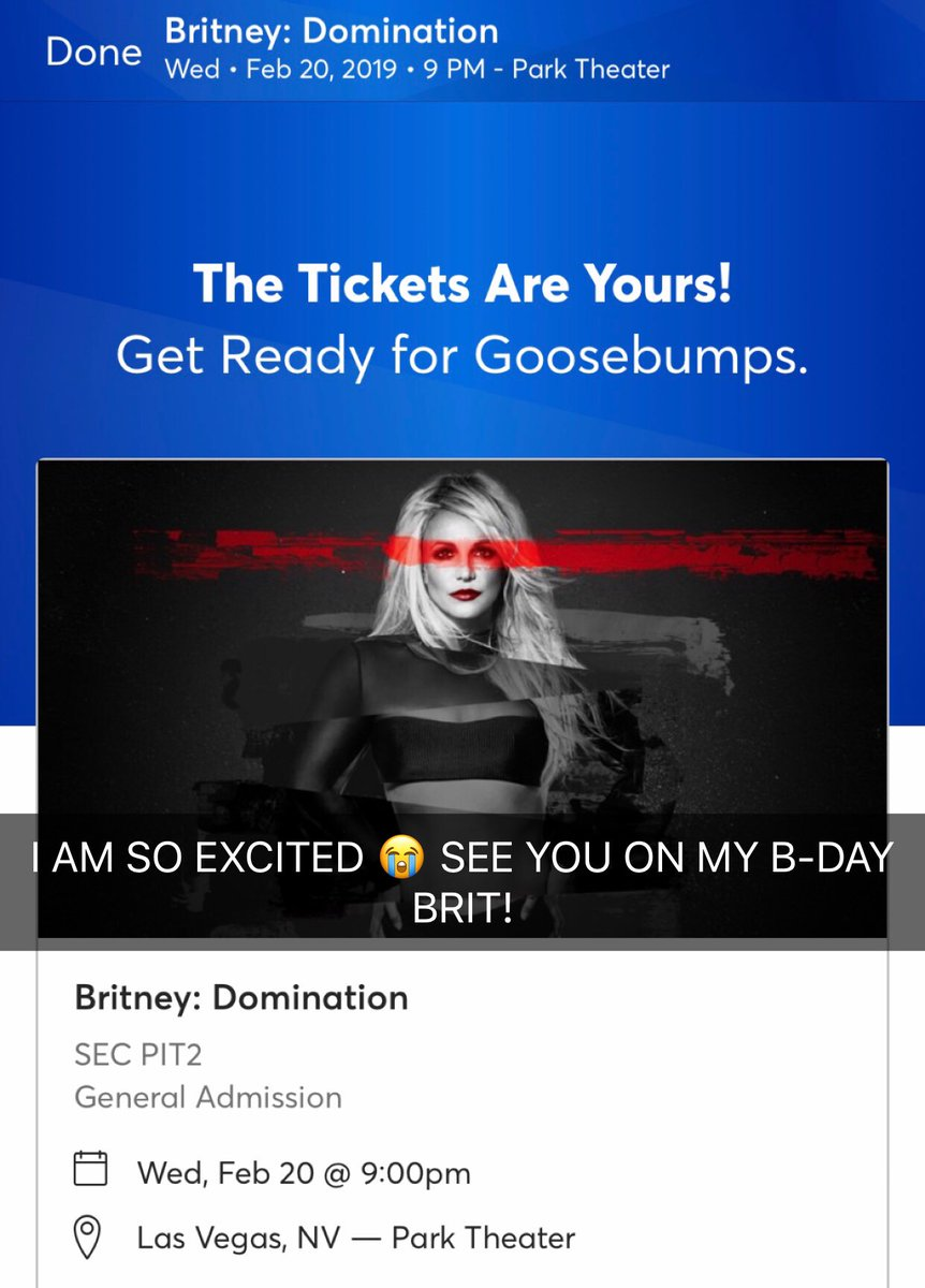 See you in Vegas!!! 🎂💕
