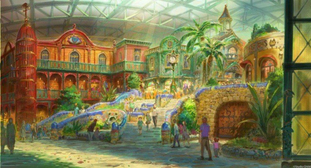 「ジブリパーク」愛知に2022年開業へ - ハウルの城やタタラ場など再現 - https://t.co/7s6Tg82NQU