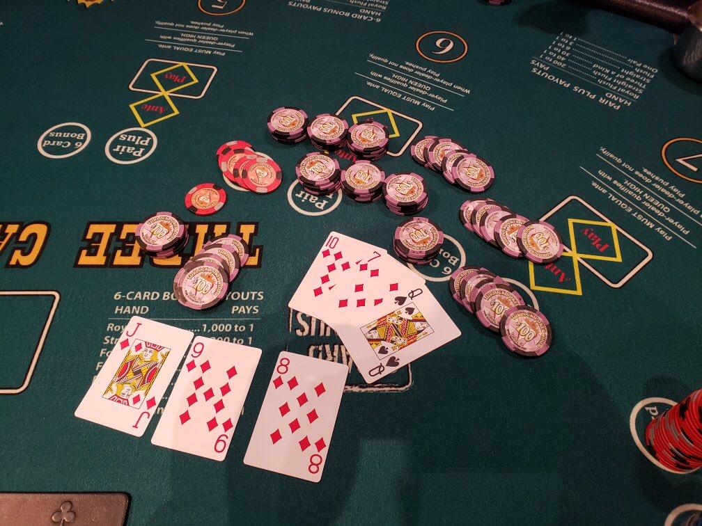 Turlock Poker Room On Twitter 5 Card Straight Flush On The 6 Card