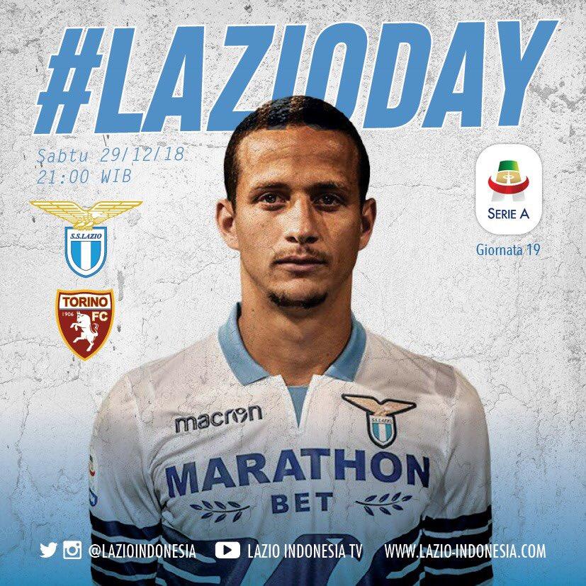 Weekend is #LAZIODAY  Sabtu, 29 desember 2018 21:00 WIB LAZIO Vs Torino - cek Info Nobar di Info Nonbar Lazio Indonesia [Official Group]  #LAZIOINDONESIA #LAZIOTorino