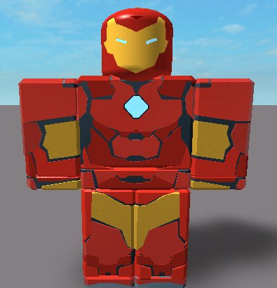 Mark 51/ Invincible Iron Man #Roblox #RobloxDev Tweet added