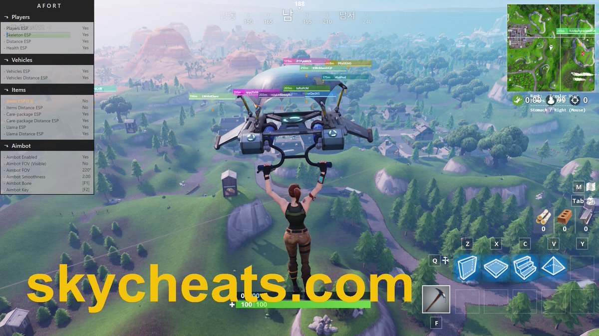 how to hack fortnite esp aimbot working and undetected 2018