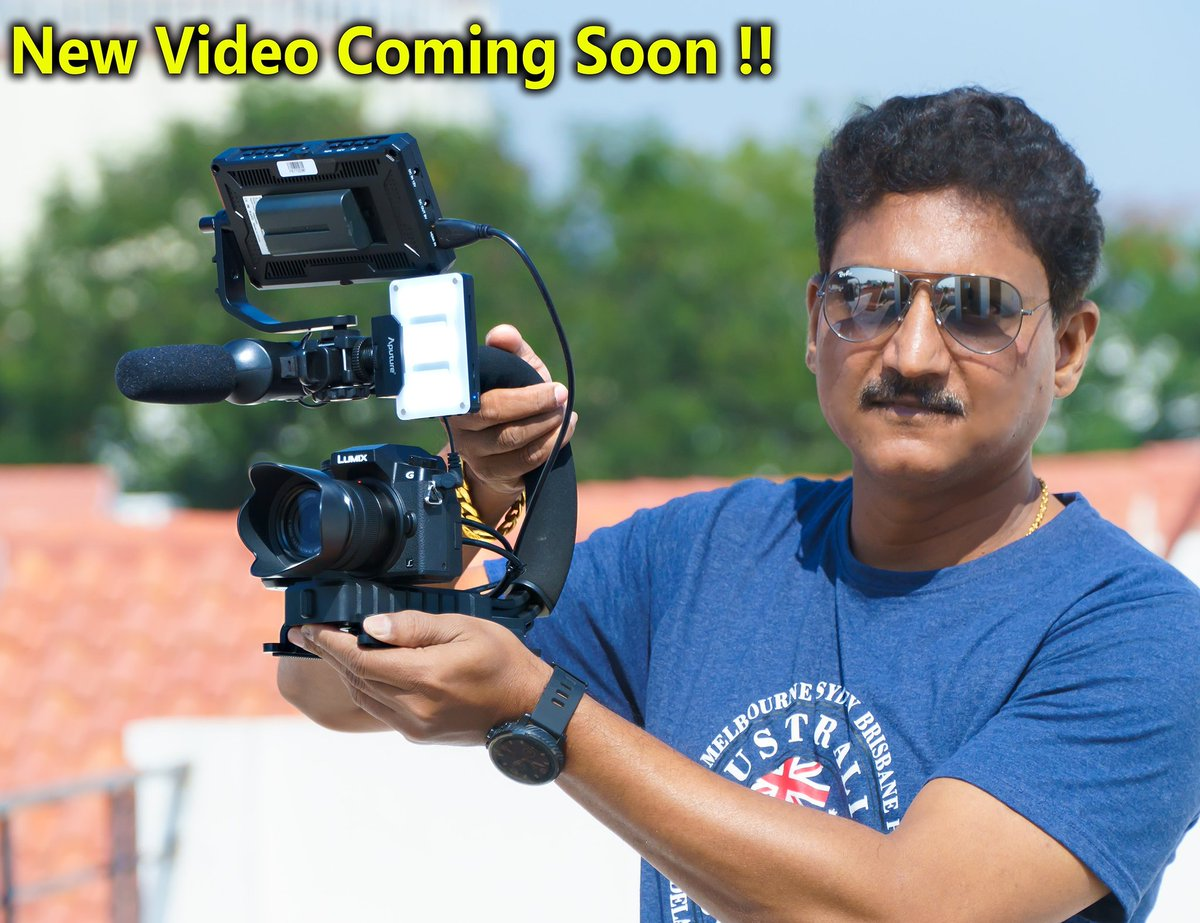 ece6309fba44  new  video  coming  soon on my  youtube  channel  professional  smartphone   camera    dslrphotography  rig  grip  unboxing  review in  telugu Link in  ...