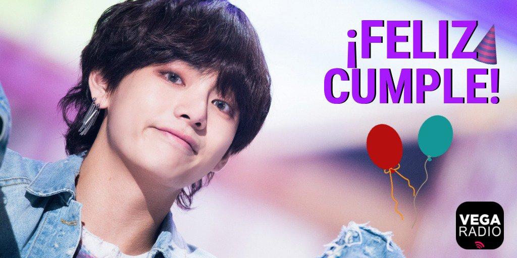 ¡Hoy es un día muy especial para #ARMY! 🎉 El integrante #V (Kim Taehyung) de @BTS_twt cumple años 🎂 ¿Qué es lo que más te gusta de él? #WE_PURPLE_V #SingulariTaeDay #TaehyungMayYouShineBright