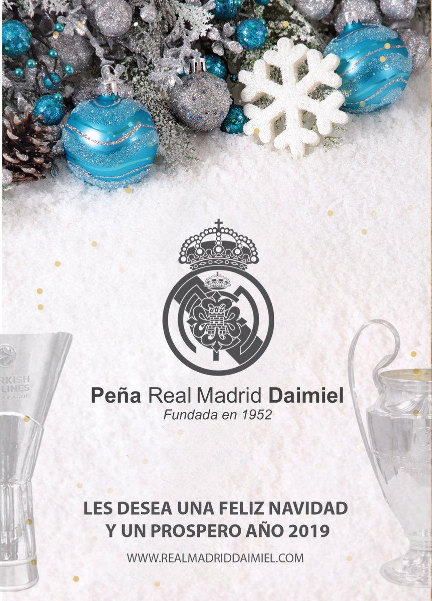 Desde la  R Madriddaimiel queremos felicitar las fiestas a todos! Ojalá  2019 sea aún mejor 29942cf5ff3d9