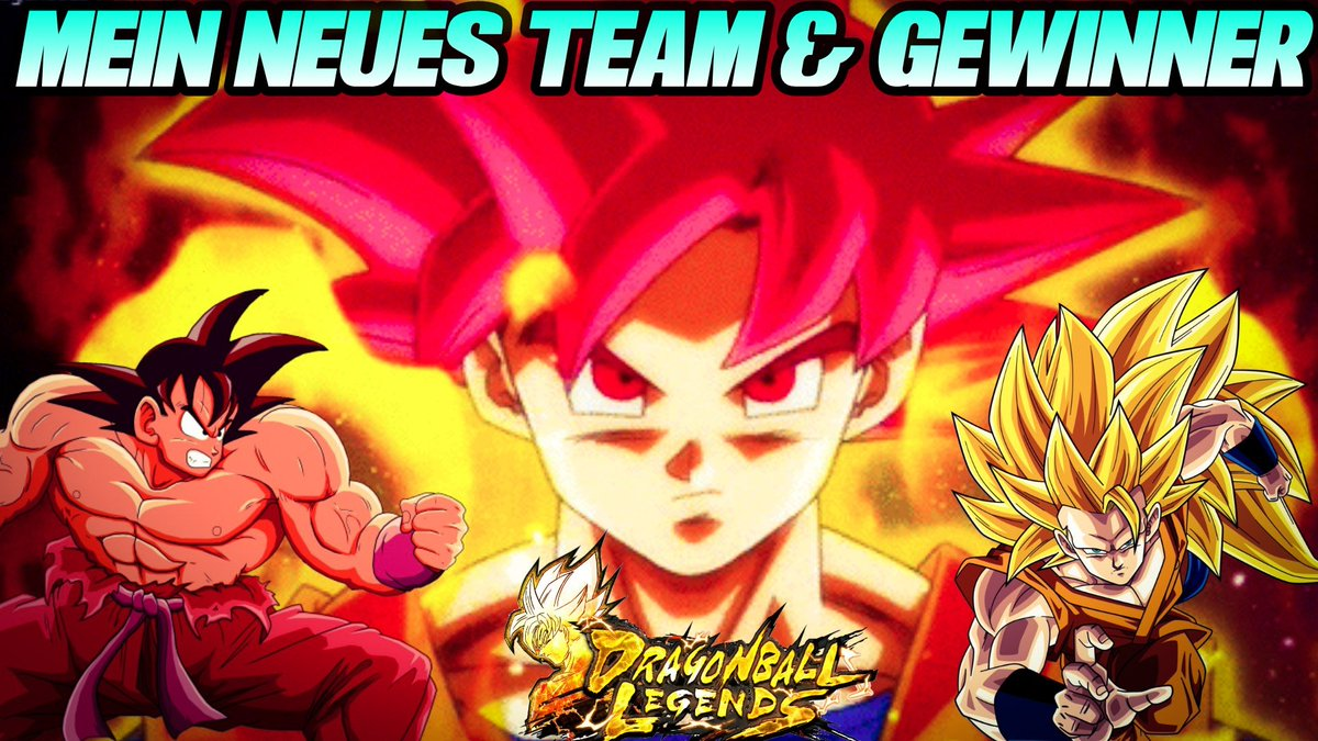 MEIN NEUES TEAM & Giveaway Gewinner im Video! 😎 In Dragon Ball Legends! Viel Spaß und haut rein ;) https://youtu.be/Pn6SQg9lXsU   #Dragonball #DragonBallLegends #Android #ios #I3lackRabbit #Letsplay #YouTube #Mobile #Team #Gewinner #Giveaway #KaiokenGoku #SSGGoku