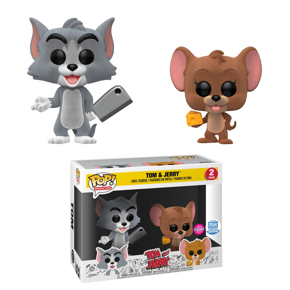RT & follow @OriginalFunko for the chance to win a Funko Shop exclusive FLOCKED Tom and Jerry Pop! 2-pack!