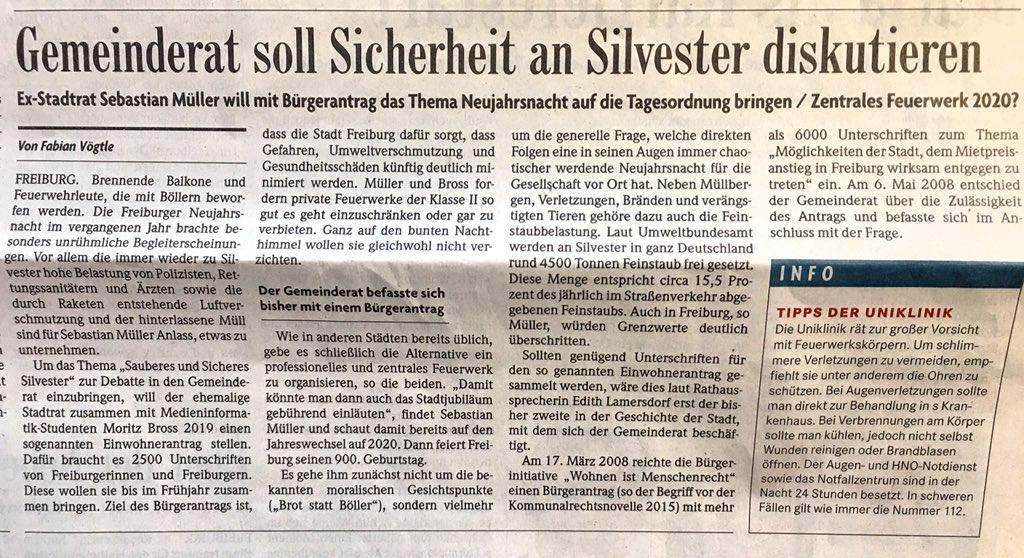 Sebastian Müller On Twitter Heute In Der At Badischezeitung Ein
