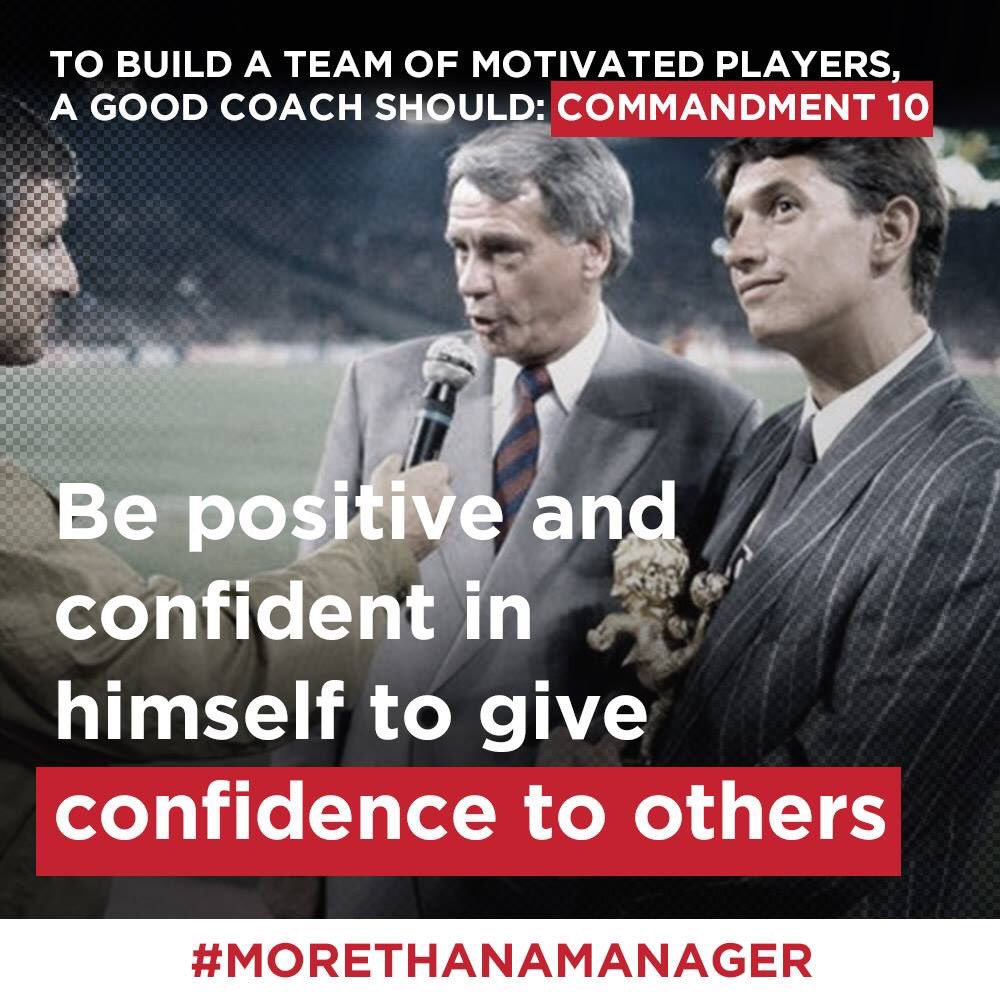 Just watched the amazing @bobbyrobsonfilm #morethanamanager so many life and leadership lessons. Picked out my top 4 highlights. Cc @GaryLineker