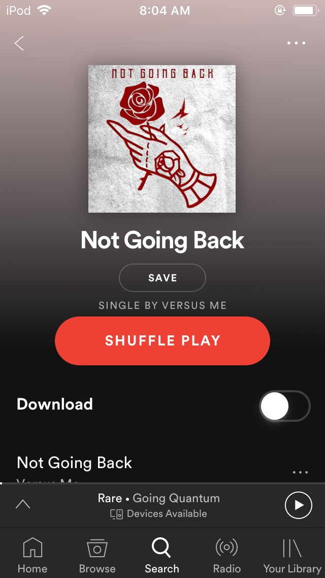 Forgot this came out yesterday gonna be listening to it later @VSMEband
