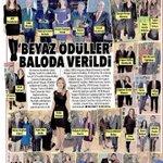 Image for the Tweet beginning: Basında BALEV Beyaz Ödüller Gecesi