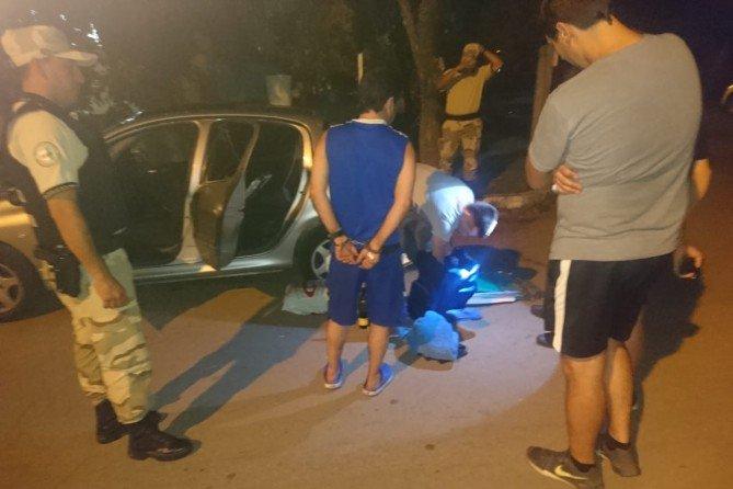 #Región | Viajaba alcoholizado, con droga, pastillas, dinero en efectivo y fue demorado en el acceso a Metileo
