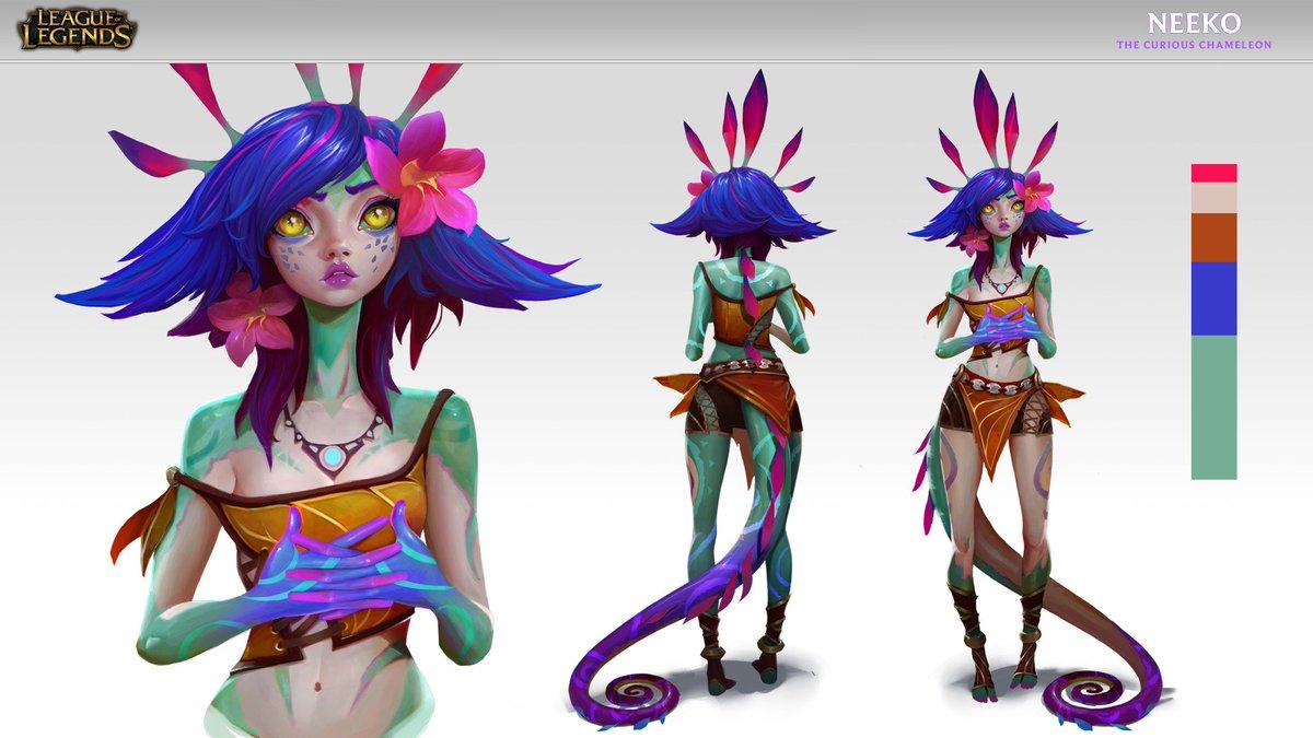 League Of Legends Concept Art